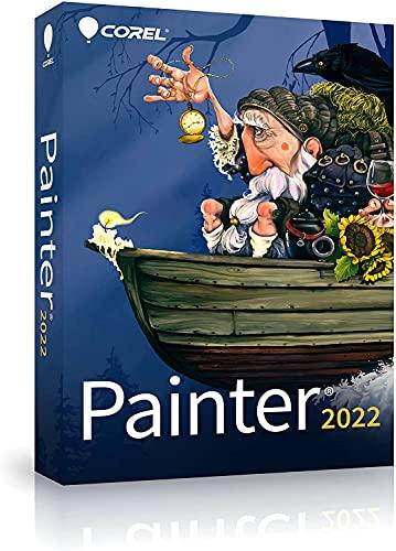 Corel Painter 2022 Upgrade|2022 upgrade|1 Device|Perpetual|PC/Mac|Disc