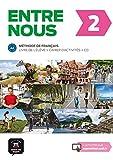Entre nous 2. Livre de l'élève + Cahier d'activités + CD (Francés) Tapa blanda: Entre nous 2 Livre de l'élève + Cahier d'exercises + CD: Vol. 2