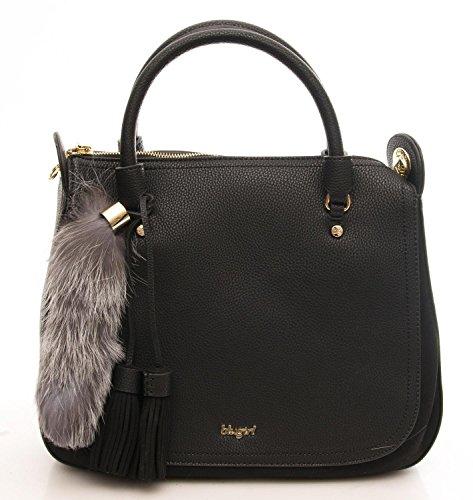 BLUGIRL Borsa Donna Roxie Double Handle Black 124002.810
