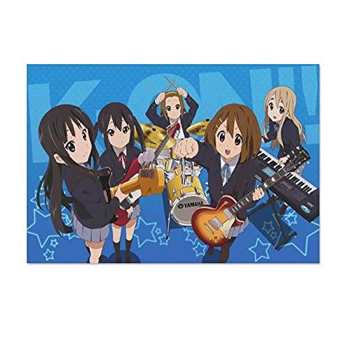 Anime K-ON!10 - Póster de lienzo para pared (30 x 45 cm)