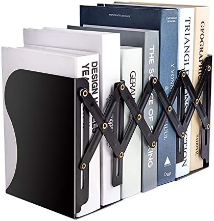 MDHAND Adjustable Bookend Expandable Magazine File Organizer Holders for Desk Shelf Office Stationery product image