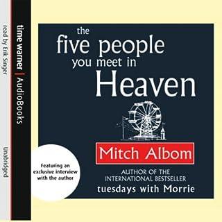 The Five People You Meet in Heaven audiobook cover art