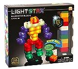 Light Stax Junior Classic Illuminated Blocks - Led Light Up Building Blocks - 36 Piece Set