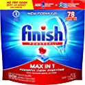 156 Count Finish Max in 1 Dishwashing Tablets
