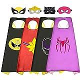 Geschenke für Mädchen 3-12 Jahre, Tisy Superhelden Kinderkostüm Spielzeug für Mädchen 3-12...