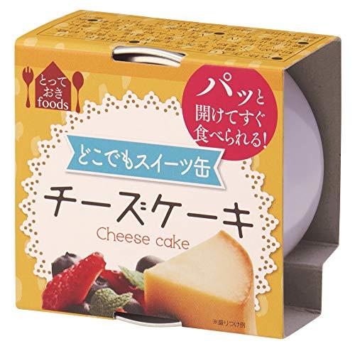 トーヨーフーズ どこでもスイーツ缶 チーズケーキ ミニ 65g×24個