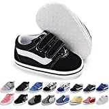 Meckior Baby Girls Boys Canvas Sneakers Soft Sole High-Top Ankle...