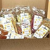 Caja degustación de pasta 'Calabria en el corazón'. Una selección de 7 paquetes de pasta aromatizada y perfumada de 500 gr. Gran idea para un regalo. Casafolino