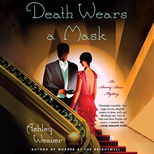 Death Wears a Mask audiobook cover art