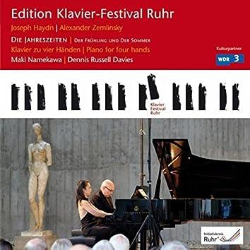 """Haydn: Die Jahreszeiten """"Der Frühling"""" & """"Der Sommer"""" (Edition Ruhr Piano Festival, Vol. 24)"""