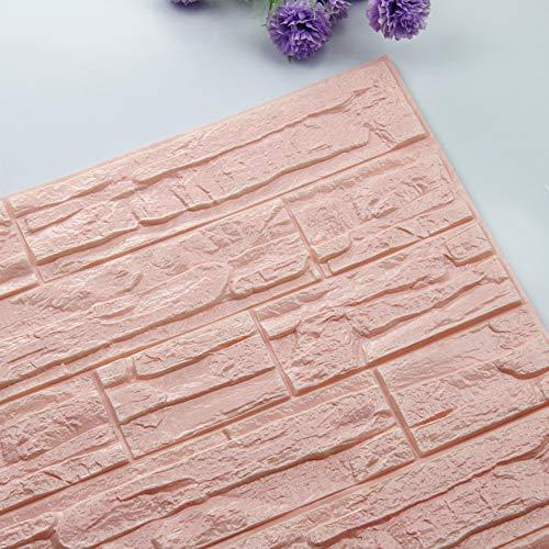 Smonke DIY 3D Ziegel PE Schaum Tapeten Panels Raum Aufkleber Stein Dekoration geprägt 30 * 60cm