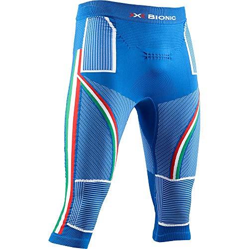 X-BIONIC - Energy Accumulator 4.0 Patriot 3/4 Italy, Pantalon Fonctionnel 3/4 pour Homme XL Italie