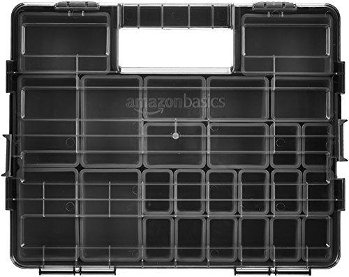AmazonBasics - Organizador de herramientas, 25 compartimentos