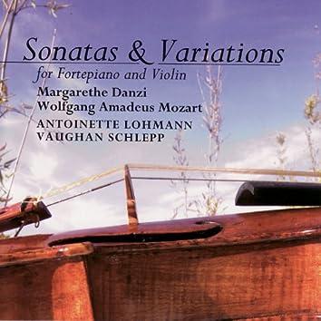 Danzi / Mozart: Sonatas and Variations