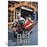 Wallace and Gromit in A Close Shave Movie Poster Decorative Painting Canvas Wall Art Living Room Posters Bedroom Painting 20×30inch(50×75cm)