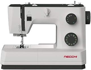 Necchi Q132A Naaimachine Automatische Naald Threader, 32 Steek, Op zwaar werk berekende Prestaties