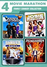 4 Movie Marathon Family Comedy Collection: (Adventures of Rocky & Bullwinkle / Josie and the Pussycats / McHale's Navy / Thunderbirds)