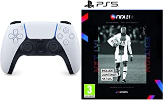 Sony PlayStation 5 - DualSense Wireless Controller + FIFA 21 - Next Level Edition - PlayStation 5