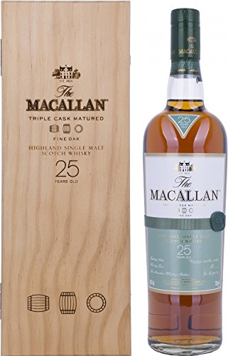 Macallan Fine Oak 25 Años Single Malt Whisky Escoces, 43% - 700 ml