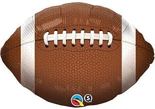 36 Inch Football Mylar Balloon - Huge 3 Foot Mylar Balloon