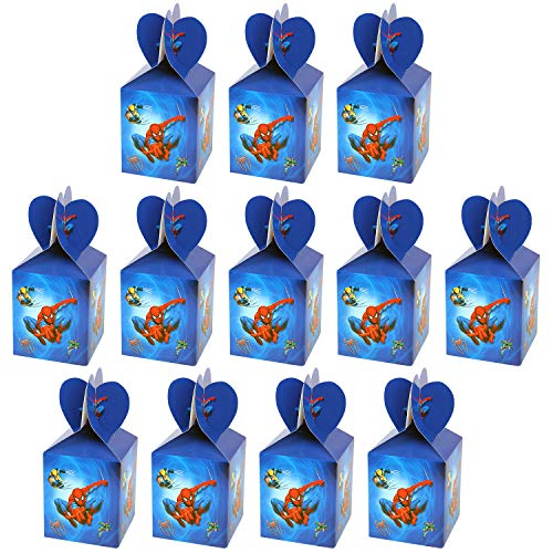 Qemsele Kids Party Boxes 12pcs, Kids Party Bags for Birthday Favors Give...