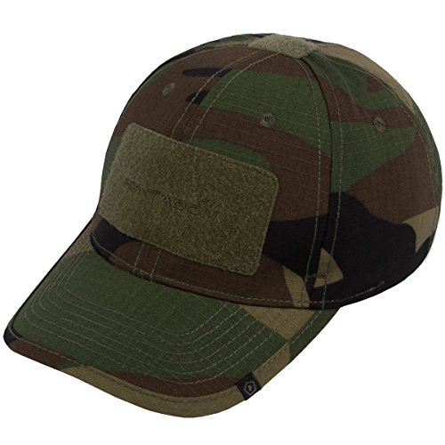 Pentagon Tactical 2.0 BB Chapeau Rip-Stop Woodland