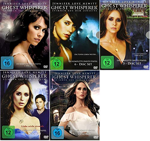 Ghost Whisperer Staffel 1-5 (1+2+3+4+5, 1 bis 5) Die Komplette Serie [DVD Set]