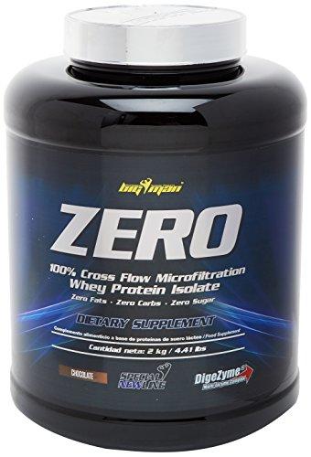 Big Man Nutrition Zero Whey Proteína Isolate, Chocolate - 2000 gr