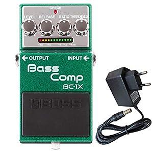Boss BC-1X Bass Kompressor + keepdrum Netzteil 9V