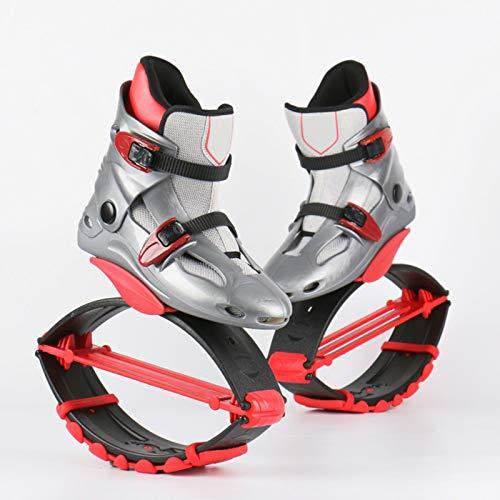 YXHUI Erwachsene Frau Mann Kang Jumps Running Boots Anti-Gravity Bouncing Schuhe Jumping Shoes Gewichtsbelastung Range 20-110KG,[EU33-35]-[50-70KG]