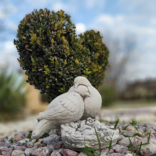 Green Lane Garden Precioso Adorno de jardín de Piedra/hormigón pájaros Enamorados