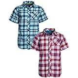 U.S. Polo Assn. Boys Short Sleeve Woven Shirt...