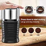 Zoom IMG-2 macinacaffe elettrico 200w con contenitori