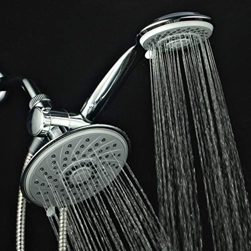 Hotel Spa 1831 30-Setting Ultra-Luxury 3 way Rainfall Shower-Head/Handheld Shower Combo by Top Brand Manufacturer. Choose from 30 full and combined water flow patterns!