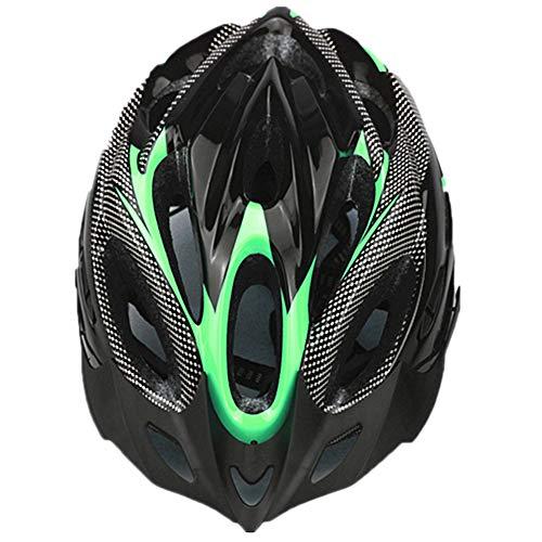 YOUCAI Ajustable Deporte Mountain Biking Seguridad Casco Ligero para Casco Bicicleta Fibra...