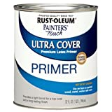 Rust-Oleum, Flat Gray Primer 1980502 Painters Touch Quart Latex, 32-Ounce