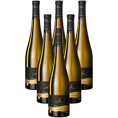 Gewürztraminer Passion Vino Bianco Alto Adige Doc Kellerei St.Paul (6 bottiglie 75 cl.)
