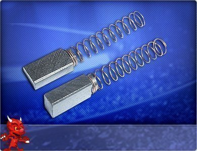 Kohlebürsten AEG Schleifer TX 125, TXE 150, EX 400, EXE 400, EXE 450/S, EXE 450/125