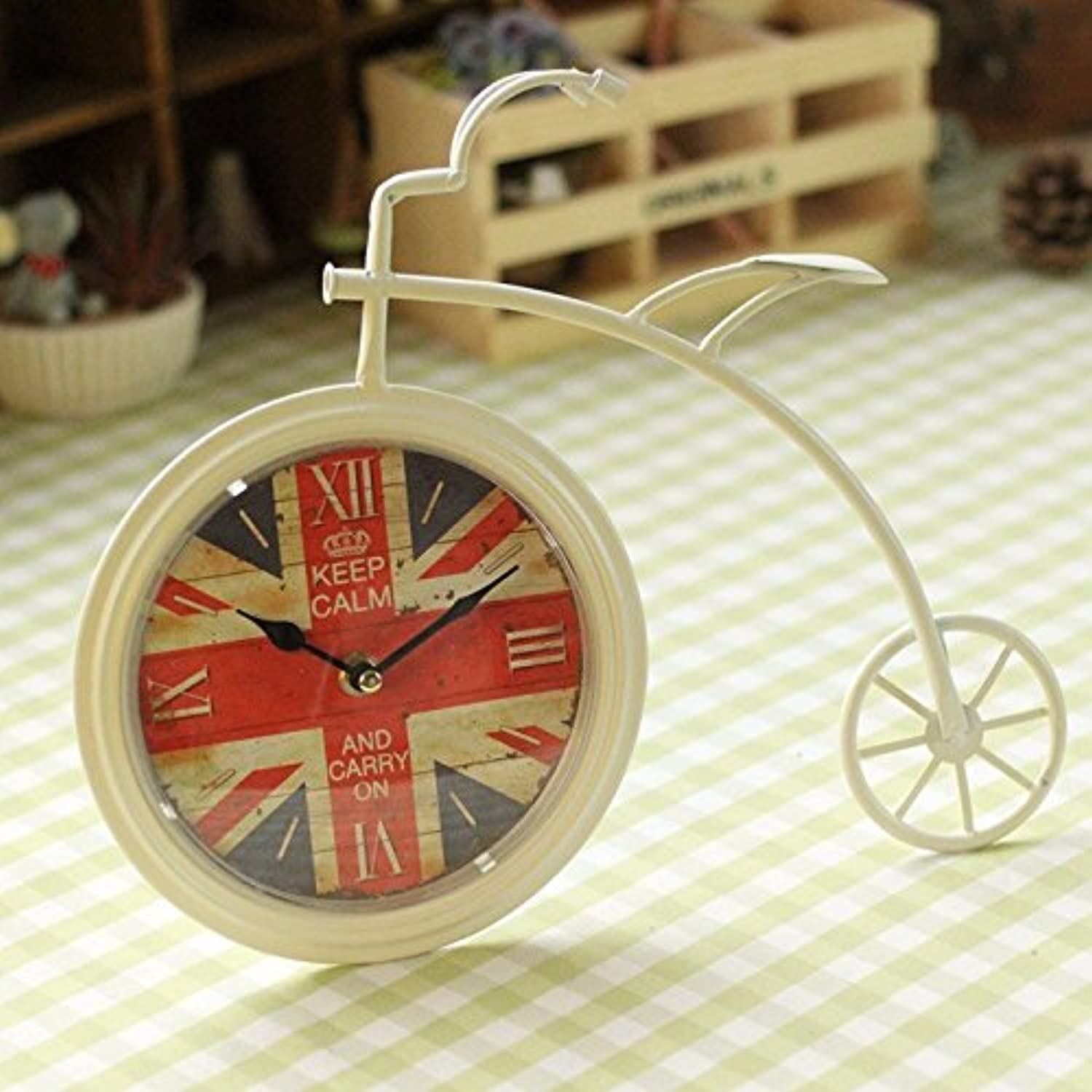 OLQMY-Luxury Home Decoration Home Decoration Decoration, Desktop Clock Decoration, Gifts,A
