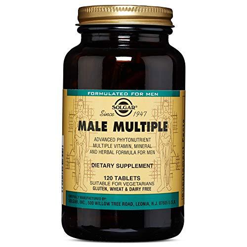 Solgar Male Múltiple, Multinutriente para el Hombre, Con Vitaminas,...