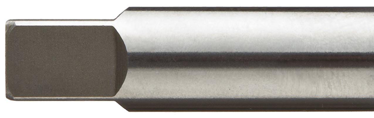 1 Shank Diameter 6 Flutes 2 Flute Length 8 Overall Length Taper Shank F/&D Tool Company 68061 Carbide Tipped Chucking Reamer 9//16 Diameter