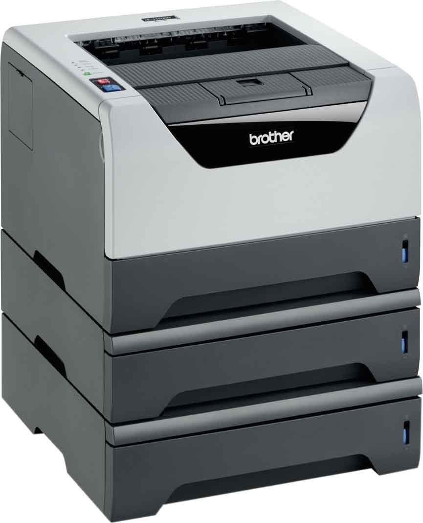 Brother Hl 5350dn2lt Monochrome Laserdrucker Schwarz Computer Zubehör