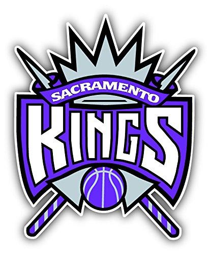 Sacramento City King Basketball Sport Logo Die-Cut Sticker Decal 12'' x 14''