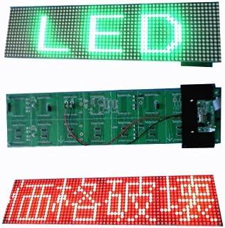高輝度屋内用4文字F5赤緑LED電光掲示板ボード