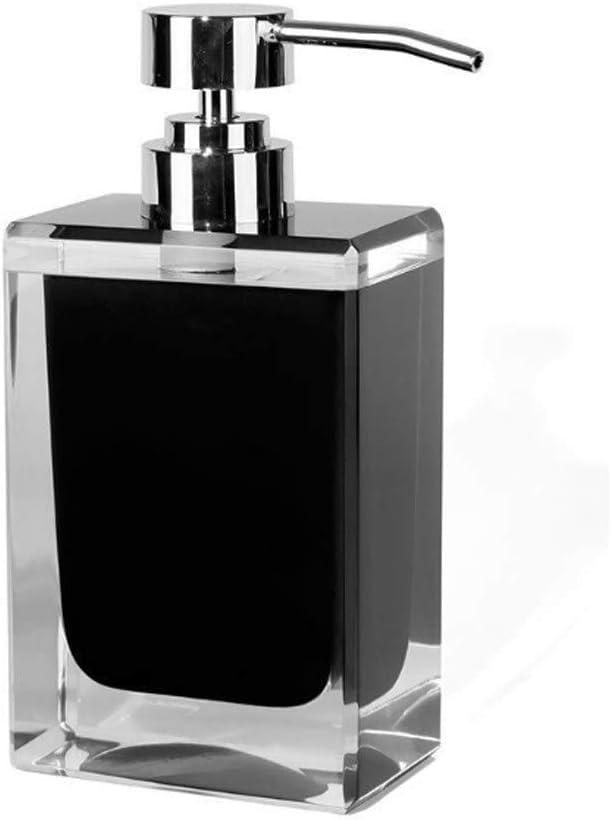 Genuine Manufacturer direct delivery YHYH soap Dispenser Black Soap Square Resin Pu Manual