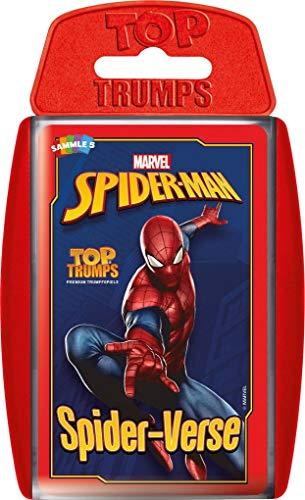 Winning Moves- Top Trumps-Spider-Man Spiderman Accesorios:, Color Figura de spiderverse (WIN62868)