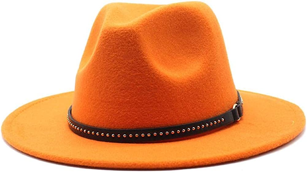 Women's and Men's Brand new Fedora Hat Classic Wo Brim Panama Elegant Wide Excellence