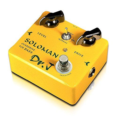 DR.J D52 Effects Soloman Overdrive - Pedal para bajo