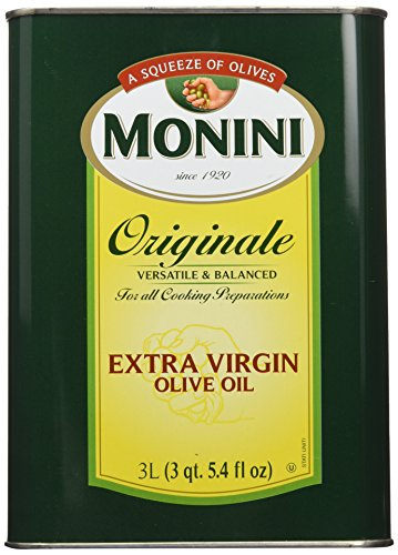 Monini Originale Extra Virgin Olive Oil, 101.4 Fluid Ounce