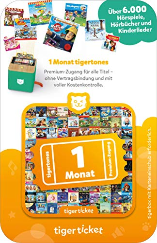 tigermedia 4201 tigerticket-1 Monat, Bunt